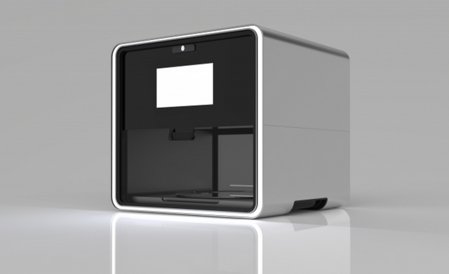 A rendering of the Foodini 3D printer. Photo courtesy of Natural Machines.